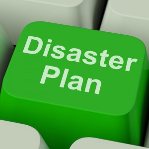 disaster plan keyboard button