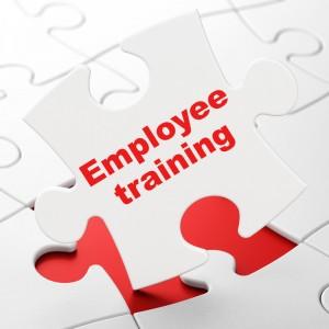 employee training puzzle piece