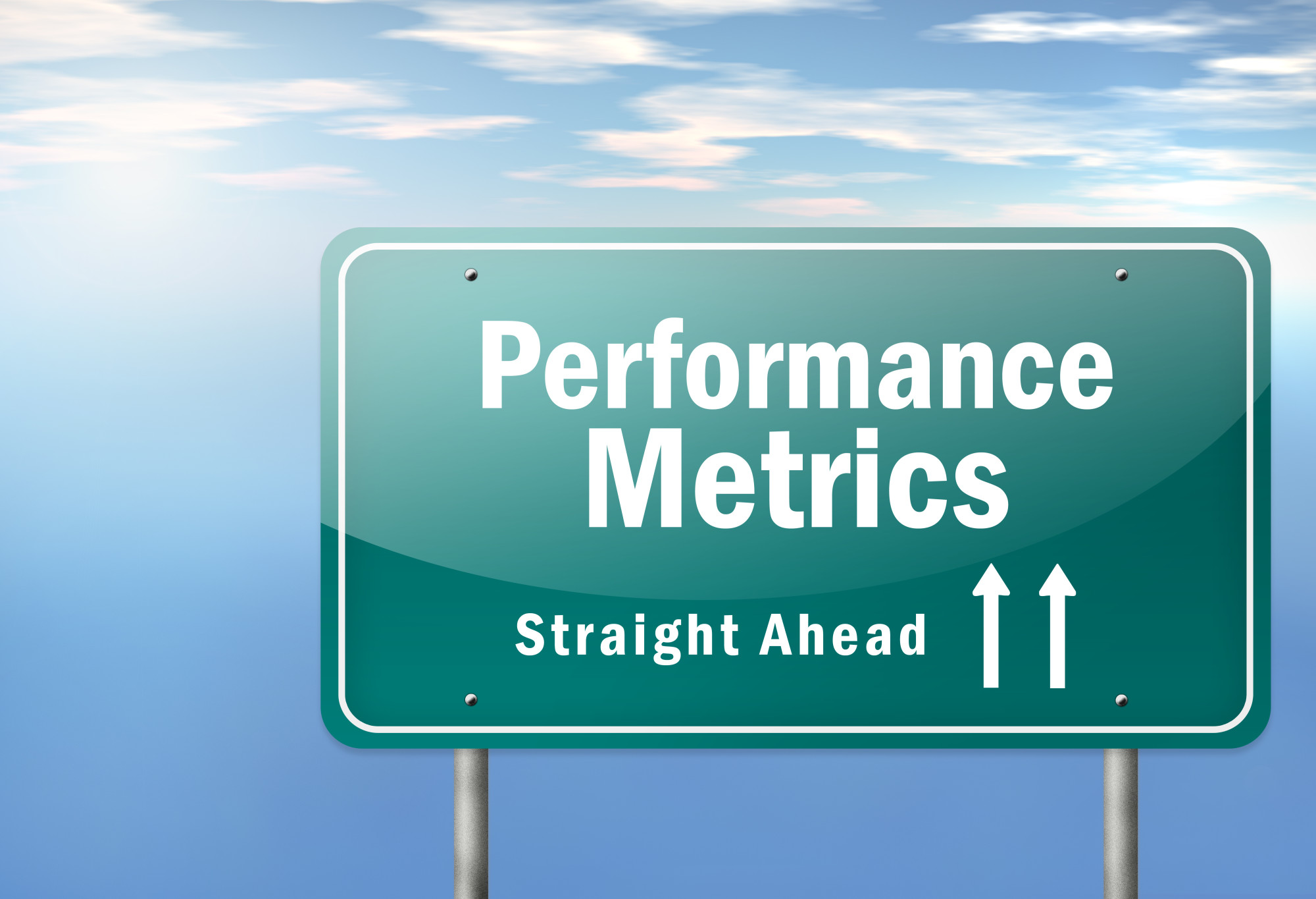 performance metrics sign